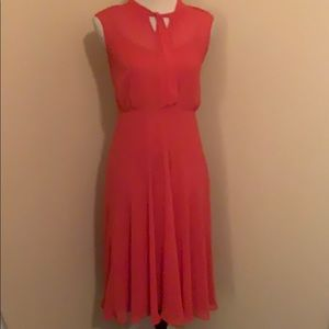 Women's beautiful red dress
